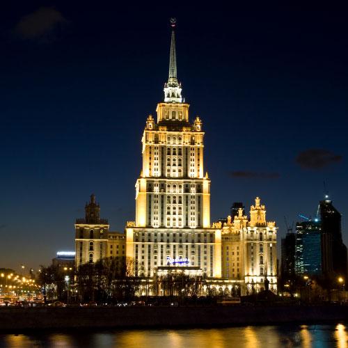 هتل رادیسون رویال در تور مسکو