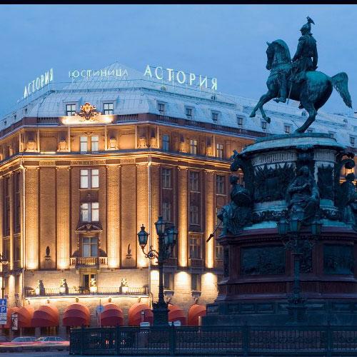 هتل در تور سن پترزبورگ