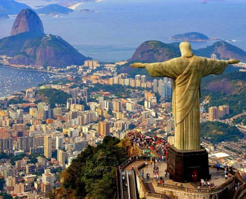جاذبه های گردشگری در تور برزیل