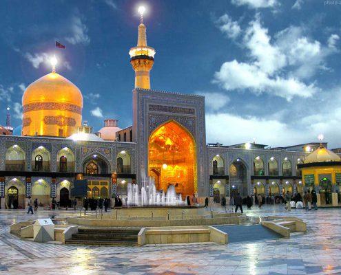 جاذبه های گردشگری در تور مشهد